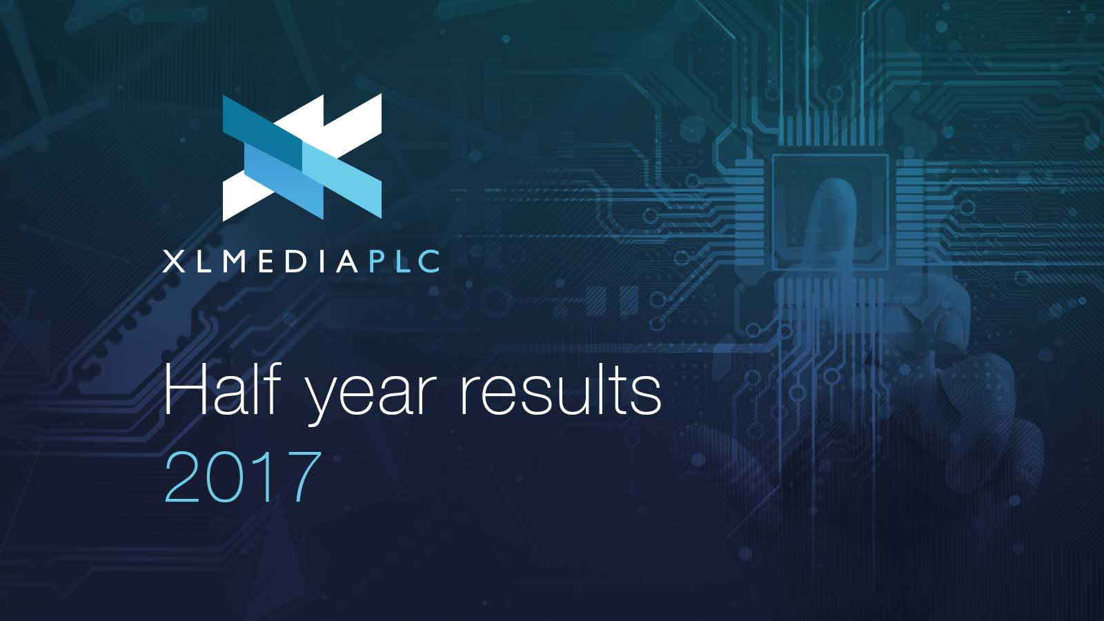 Half year results webcast for 2017